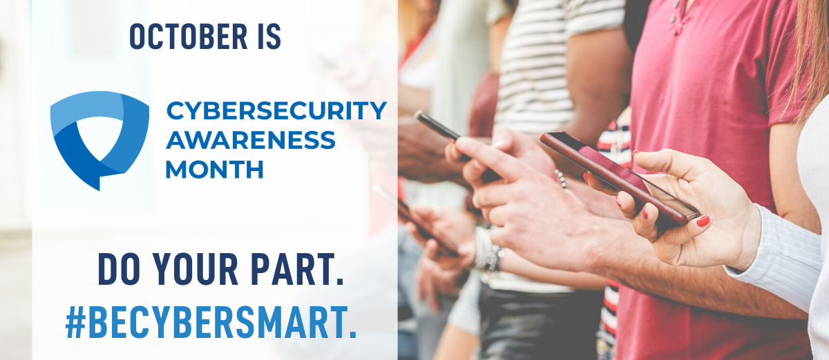 National Cyber Security Awareness Month banner image
