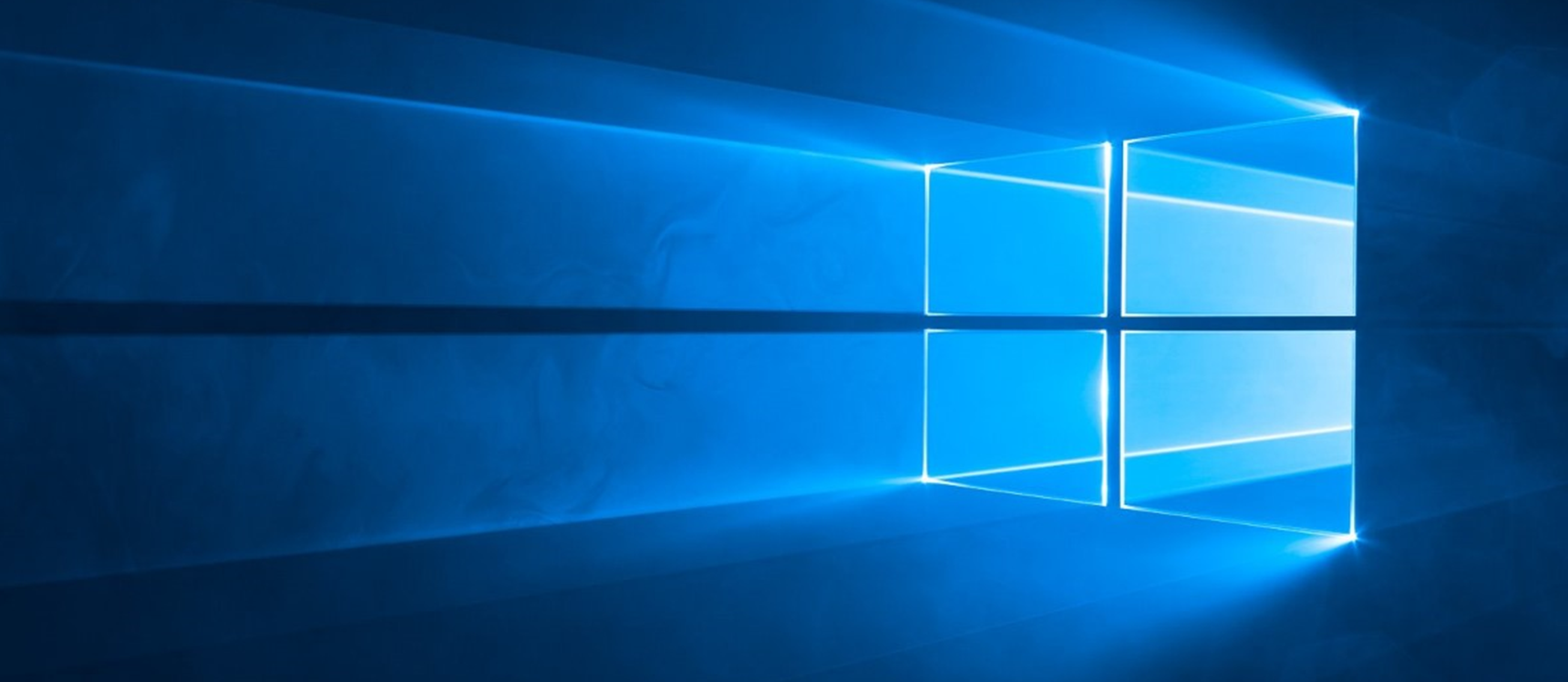 image of computer with Windows 10