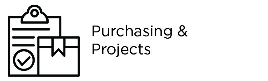purchasing & projects icon